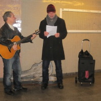Busking in the U-Bahn